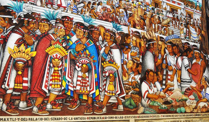 Zona Arqueológica de Cacaxtla / Xochitécatl