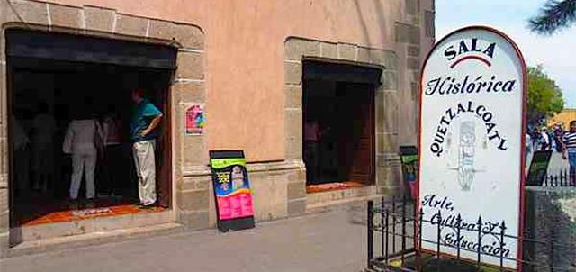 Sala Histórica Quetzalcóatl