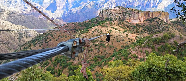 Adventure Park Copper Canyon, Barrancas del Cobre / Sierra Tarahumara