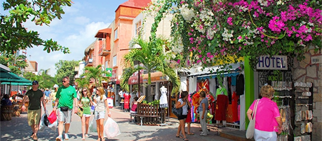 The 5th. Avenue, Playa del Carmen