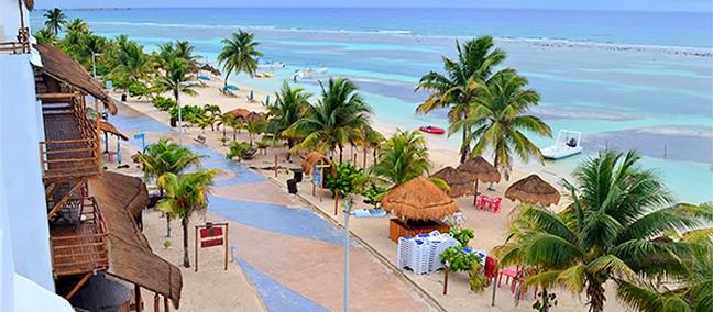 Malecón, lo mejor que hacer en Mahahual,   ZonaTuristica