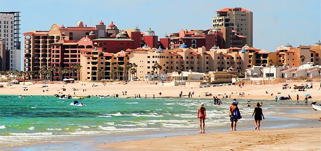 The Conchas Mirador Sandy Beach And Choya Beaches Puerto Peñasco