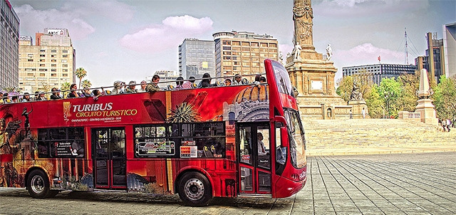 City Sightseeing Tours on the Turibus, Ciudad de México