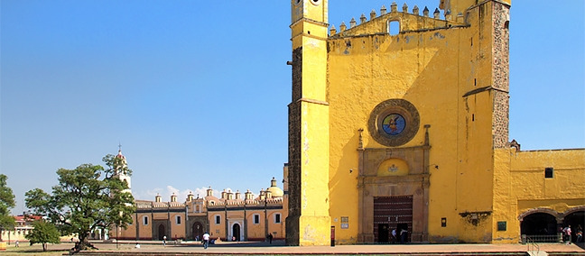 Convent of San Gabriel and the Royal Chapel, Cholula