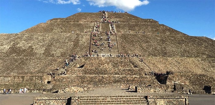 The Teotihuacan Archaeological Site, Teotihuacán