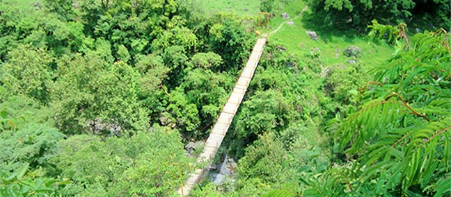 Hanging Bridge, Pahuatlán