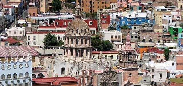 Jesuit Temple and Painting Gallery, Guanajuato