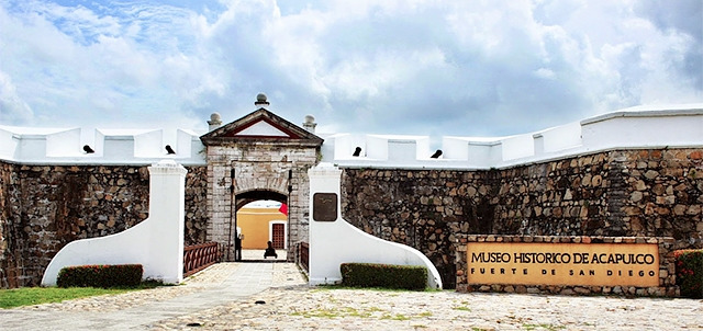 The San Diego Fort, Acapulco