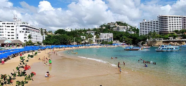 Caleta and Caletilla Beaches, Acapulco