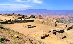 The Monte Alban Archaeological Site