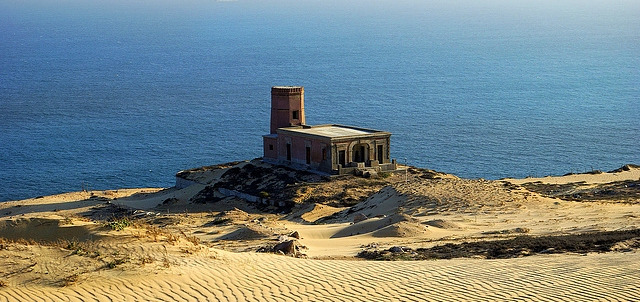 The Sand Dunes and the Old Lighthouse, Los Cabos