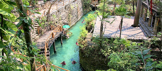 Xcaret, Cancún
