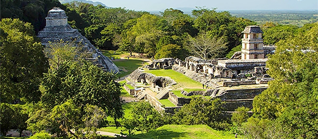 The Palenque Archaeological Site