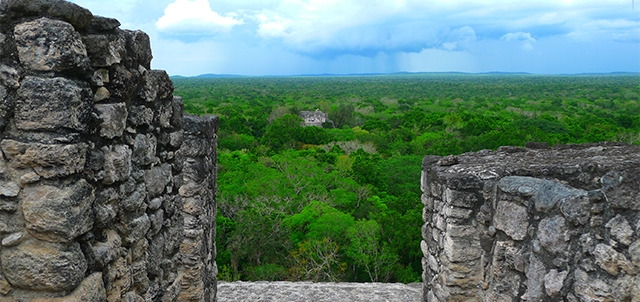 Calakmul Archaeological Site, Xpujil
