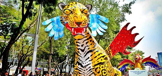 Desfile de alebrijes en Mexico F2_870