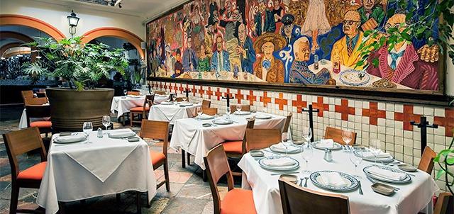 Restaurante el mural de los poblanos puebla mexico for El mural restaurante puebla