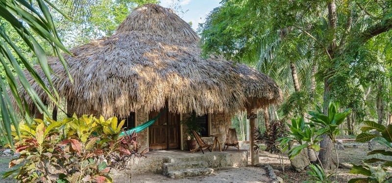 Hotel villas ecotucan costa maya for Villas bacalar