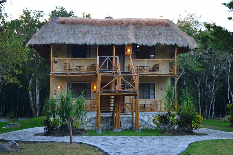 Chicanná Ecovillage Resort, Xpujil