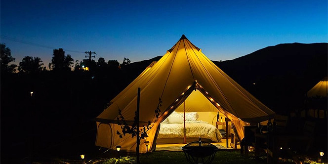 Guadalupe Luxury Tenting, Valle de Guadalupe