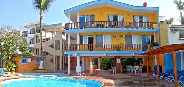 Hotel las gaviotas rinc n de guayabitos for Hotel luxury rincon de guayabitos