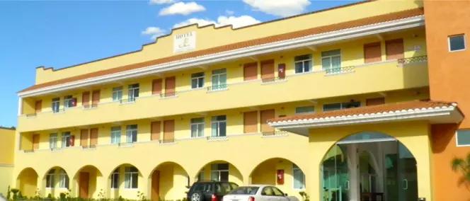 Hotel Santa Bertha, Texcoco.