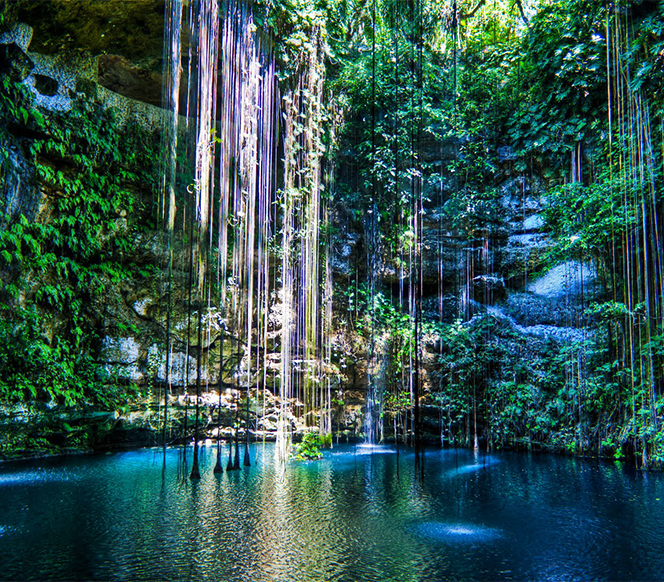 Cenote Dos Ojos, Yuc