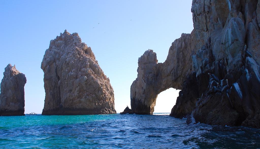 Que hacer en Los Cabos, Playa del Amor y el Arco