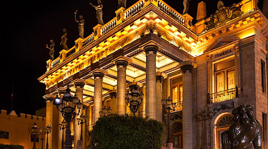 Qué hacer en Guanajuato, Teatro Juárez