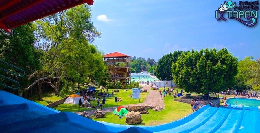 Parque Acuático en Ixtapan de la Sal