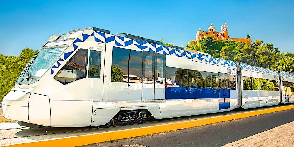 Tren Turístico, Puebla