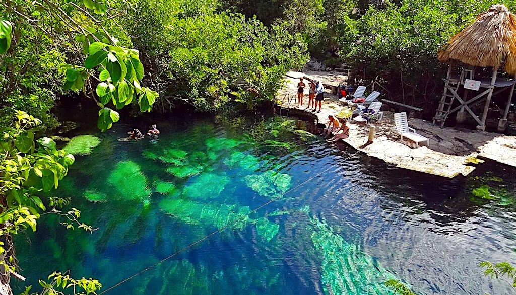 Ruta de los Cenotes en Puerto Morelos