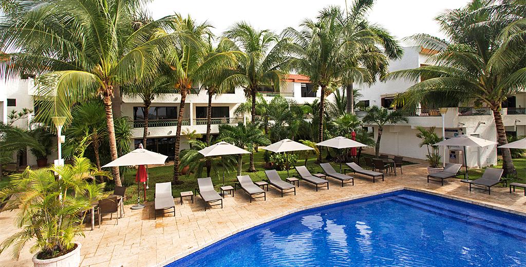 Hotel Barato Sina Suites en la Zona Hotelera de Cancún