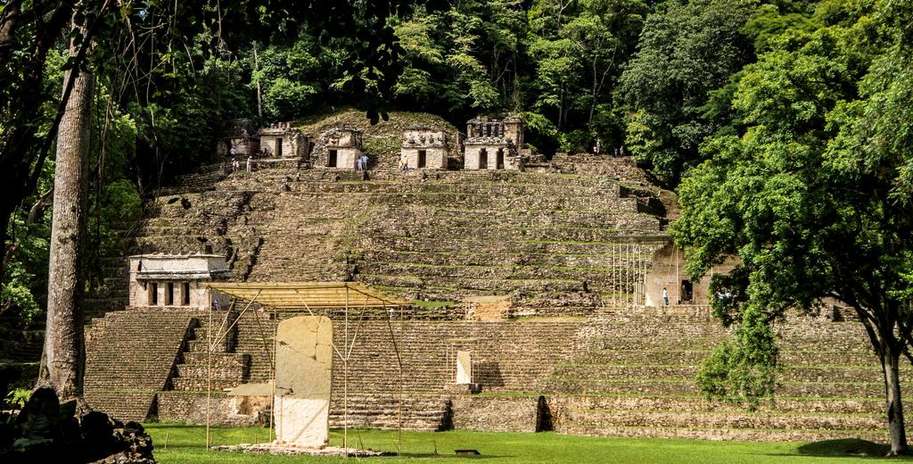 Zona Arqueológica Bonampak en Chiapas