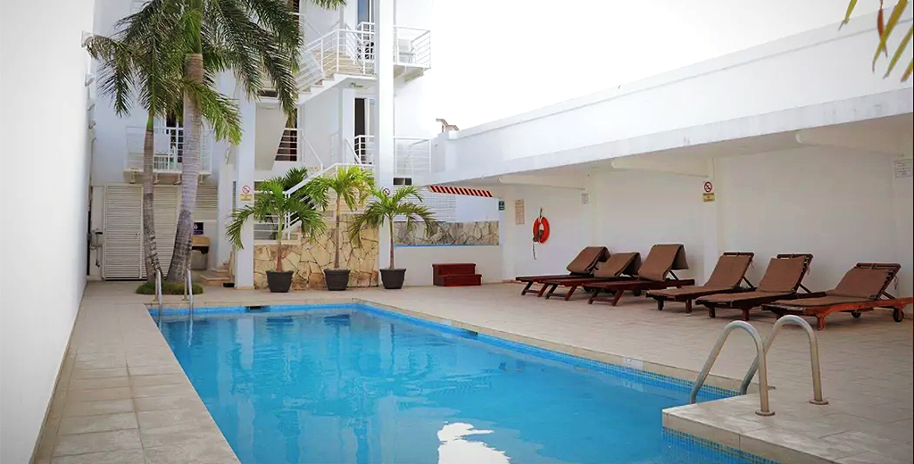 Hotel Barato Terracaribe en Cancún