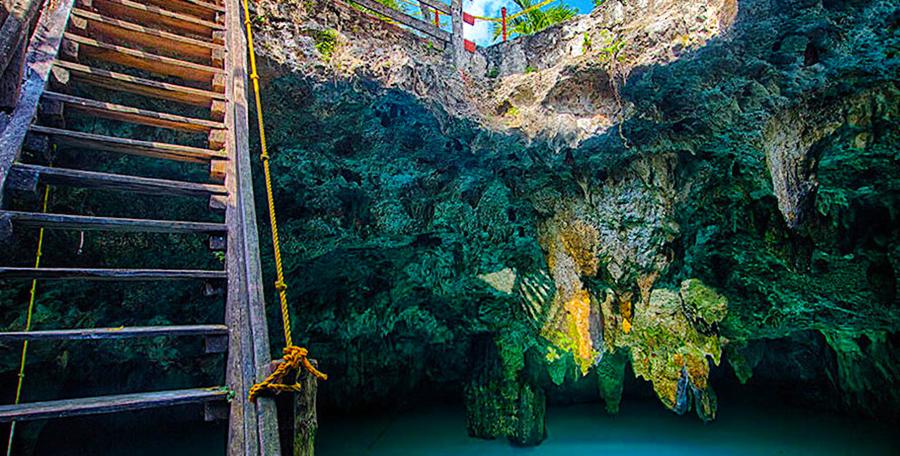 Cenote La Noria, Puerto Morelos