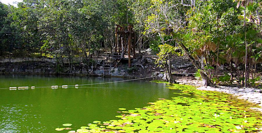 Cenote Las Mojarra, Puerto Morelos