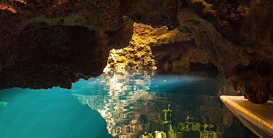 Cenote Siete Bocas, Puerto Morelos