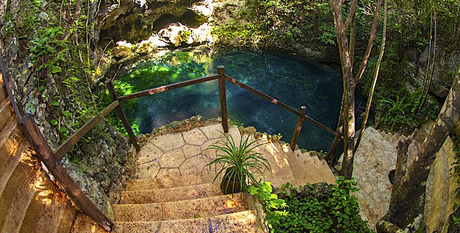 Cenote Zapote, Puerto Morelos