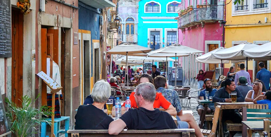 Restaurantes en Guanajuato, México
